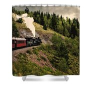 Cumbres And Toltec Train Co And Hm Shower Curtain