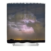 Cumulonimbus Cloud Explosion Portrait Shower Curtain by James BO  Insogna