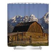 Cunningham Cabin Grand Tetons Wyoming Shower Curtain