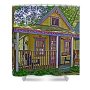 Cup Cake In Asbury Grove In South Hamilton-massachusetts  Shower Curtain