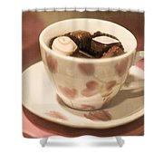 Cup Of Chocolate Shower Curtain