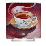 Cup Of Tea Shower Curtain