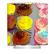Cupcake Suite Shower Curtain