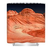Cupcakes And Canyons Shower Curtain