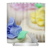 Cupcakes Shallow Depth Of Field Shower Curtain