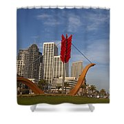 Cupids Arrow San Francisco Shower Curtain