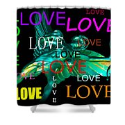 Cupids Love Shower Curtain