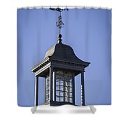 Cupola And Weather Vane Shower Curtain