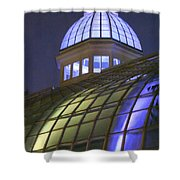 Cupola At Night Shower Curtain