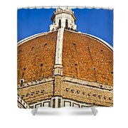 Cupola On Florence Duomo Shower Curtain