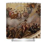Cupola Painting - Washington Dc Shower Curtain