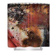 Curb The Corrosion  Shower Curtain
