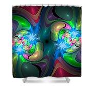 Curbisme-37 Shower Curtain