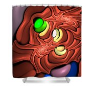 Curbisme-81 Shower Curtain