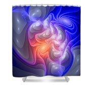 Curbisme-86-b Shower Curtain