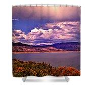 Curecanti Autumn Blue Mesa Colorado Shower Curtain