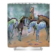 Curious Ones Shower Curtain