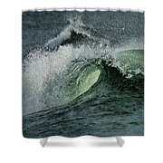 Curl Of The Wave Shower Curtain