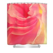 Curling Blossom Shower Curtain