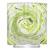 Curly Greens II Shower Curtain