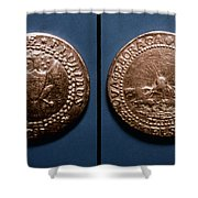 Currency: U.s. Coin, 1787 Shower Curtain