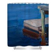 Currituck Dock Shower Curtain