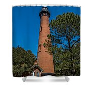 Currituck Lighthouse Shower Curtain