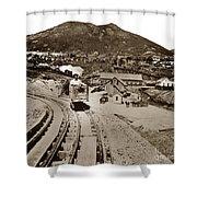 Curry Mine.virginia City Nevada.1865 Shower Curtain