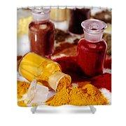 Curry Powder Shower Curtain