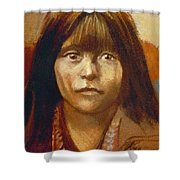 Curtis Indian Girl Shower Curtain