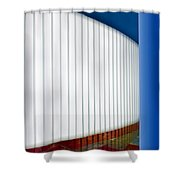 Curve Appeal Shower Curtain