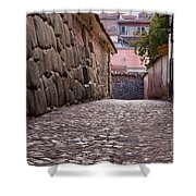 Cusco City Street Shower Curtain