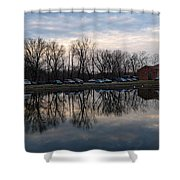 Cushwa Basin C And O Canal Shower Curtain