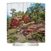 Custer State Park Ecology Shower Curtain