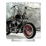 Custom Bobber Shower Curtain