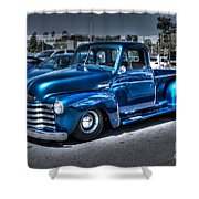 Custom Chevy Pickup Shower Curtain