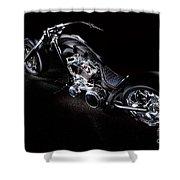 Custom Chopper Shower Curtain