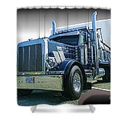 Custom Dump Truck Shower Curtain
