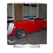 Custom Hotrod Shower Curtain