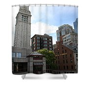 Custom House - Boston Shower Curtain