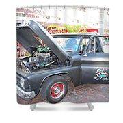Custom Pickup Truck Shower Curtain