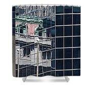 Custom Reflection Shower Curtain