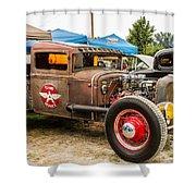 Custom Truck Shower Curtain
