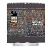 Customer Parking Shower Curtain