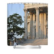 Customs House Steps Shower Curtain