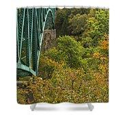 Cut River Bridge 1 A Shower Curtain