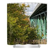 Cut River Bridge 2 Shower Curtain