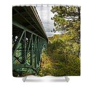 Cut River Bridge 3 A Shower Curtain