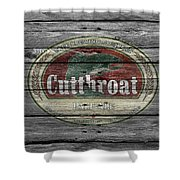 Cutthroat Pale Ale Shower Curtain