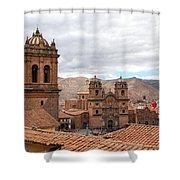 Cuzco Plaza Del Armas Shower Curtain